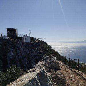 Honza na vrcholu Rock of Gibraltar (25.10.2019 13:14)
