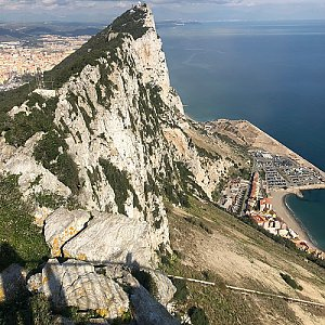 koc256 na vrcholu Rock of Gibraltar (16.1.2019 12:58)