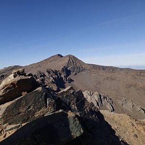 Honza na vrcholu Puntal de Laguna Garda (17.10.2019 12:13)