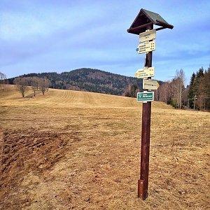 Martin Matějka na vrcholu Buková (25.3.2017 11:25)