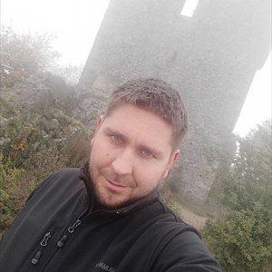 Jaromír Mach na vrcholu Ralsko (29.10.2020 13:04)