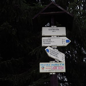 Iveta Válová na vrcholu Olivetská hora (30.11.2019 14:55)