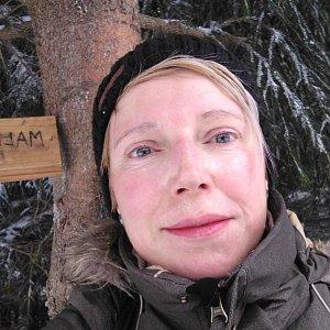 Joan na vrcholu Malá Stolová (6.1.2020 11:00)