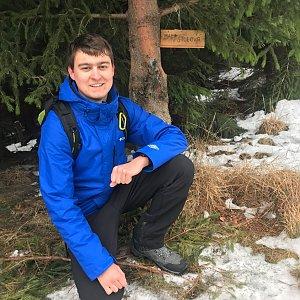 Bronislav na vrcholu Malá Stolová (11.1.2020 12:00)