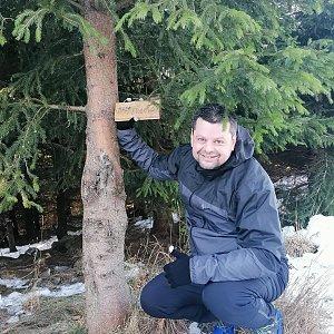 Ombre_Zamakejsi.cz na vrcholu Malá Stolová (12.1.2020 10:30)
