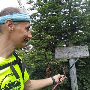 Jiří Sumbal na vrcholu Malá Stolová (18.8.2018 14:46)