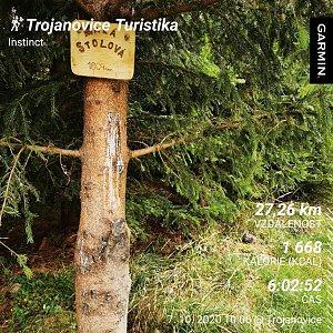 Medvěd Codiak na vrcholu Malá Stolová (7.10.2020 14:20)