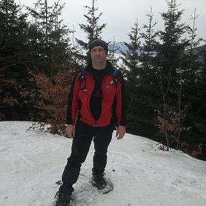 Jiří P na vrcholu Malá Stolová (3.2.2019 11:13)