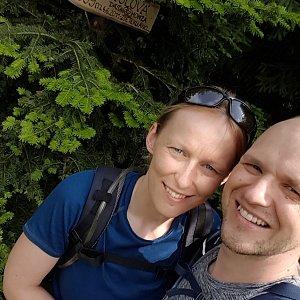 Michaela Karásková na vrcholu Malá Stolová (27.6.2021 15:35)
