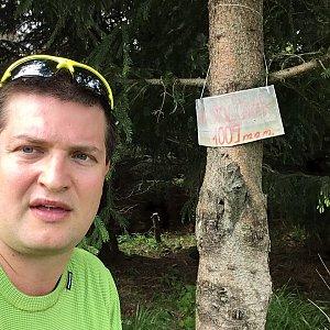 Radim Škrabánek na vrcholu Malá Stolová (1.6.2019 10:18)