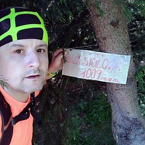 Vítězslav Vrána na vrcholu Malá Stolová (9.6.2019 12:26)
