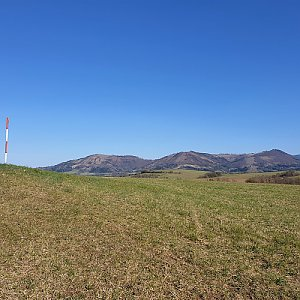 Petr Pepe Peloušek na vrcholu Kamenice (12.4.2020 16:43)