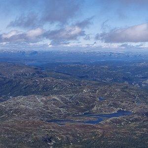ŠenovKK na vrcholu Gaustatoppen (19.8.2021 11:39)