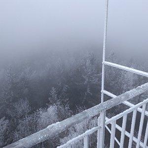 Eliška na vrcholu Žaltman (21.11.2020 14:05)