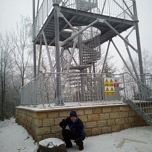 Martin na vrcholu Žaltman (28.12.2020 9:00)