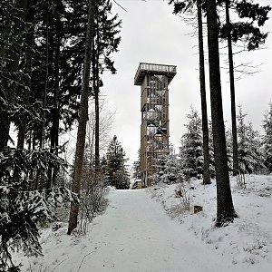 Vladimír Grančay na vrcholu Císařský kámen (28.12.2019 12:08)