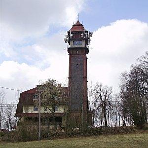 Jarda Vála na vrcholu Tábor (9.4.2011 8:57)