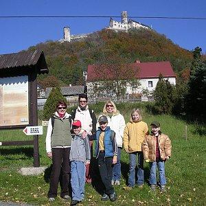 Jar Faldy na vrcholu Bezděz (14.10.2007 11:30)