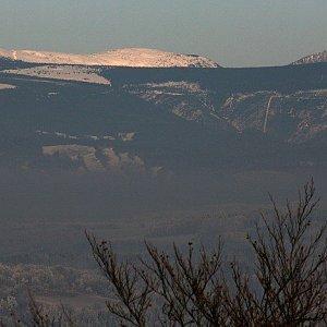 Bouřka na vrcholu Kumburk (1.1.2017 13:05)