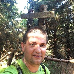 Radim Škrabánek na vrcholu Malchor (25.7.2019 9:37)