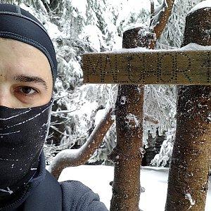 Petr Kowolowski na vrcholu Malchor (24.1.2018 10:24)
