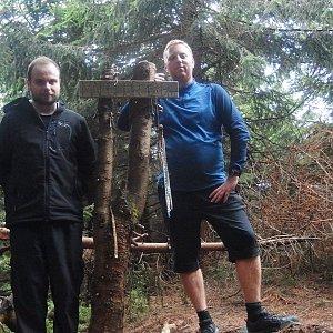Jiří Chmiel na vrcholu Malchor (13.9.2019 16:08)