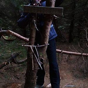 PeteBukař na vrcholu Malchor (1.11.2019 15:37)