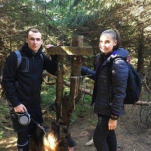 Jiří Tkáč na vrcholu Malchor (22.9.2019 13:00)