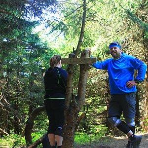 Martin a Jana Halamíčkovi na vrcholu Malchor (6.5.2018 13:25)