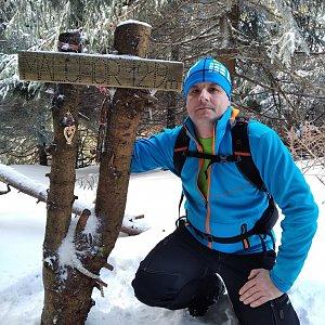 Vítězslav Vrána na vrcholu Malchor (15.2.2020 12:28)