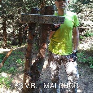 Aleš Sýkora na vrcholu Malchor (26.5.2018 10:49)