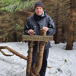 Jiří Gryz na vrcholu Malchor (14.3.2020 11:27)