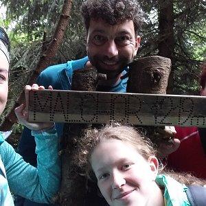 Babunka159 na vrcholu Malchor (16.6.2018 17:15)