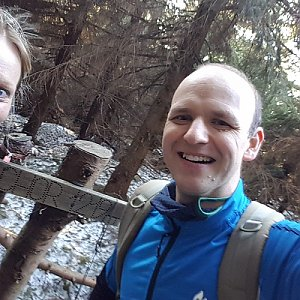 Michaela Karásková na vrcholu Malchor (12.4.2020 18:14)