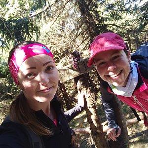 Michelle Sýkorová na vrcholu Malchor (22.4.2020 11:18)