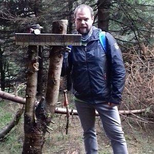 Petr Zajac na vrcholu Malchor (5.5.2020 17:30)