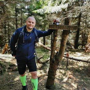 Tomáš Mucha na vrcholu Malchor (8.5.2020 13:40)