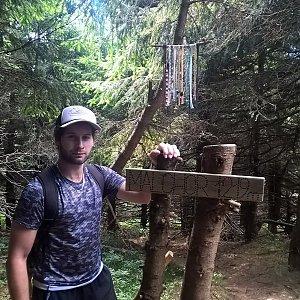 Jack Skurello na vrcholu Malchor (31.7.2018 14:35)