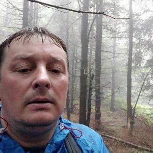 Roman Grebenar na vrcholu Malchor (12.7.2020 8:27)