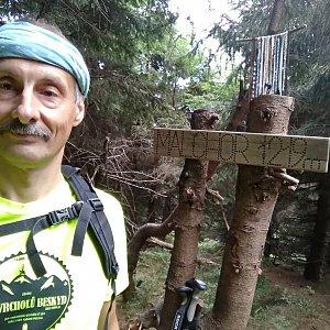 Jiří Sumbal na vrcholu Malchor (18.8.2018 7:49)