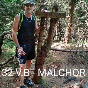 Aleš Sýkora na vrcholu Malchor (8.8.2020 12:47)