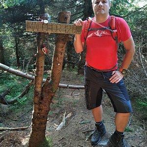 Vítězslav Vrána na vrcholu Malchor (11.8.2020 16:44)