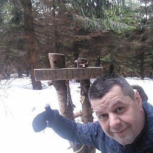 Ombre_Zamakejsi.cz na vrcholu Malchor (14.3.2020 11:43)