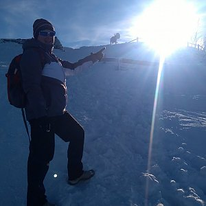 Kemo na vrcholu Malchor (6.2.2019 14:54)