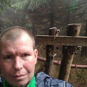 Michal Krčmář na vrcholu Malchor (12.5.2019 11:28)