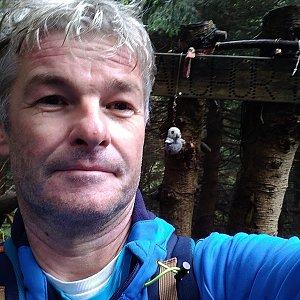 Jaroslav Macura na vrcholu Malchor (8.8.2021 9:44)