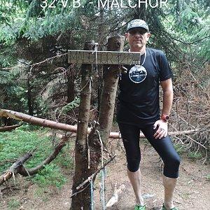 Aleš Sýkora na vrcholu Malchor (5.7.2019 11:02)