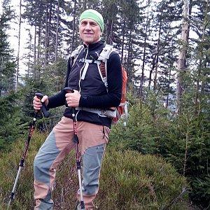Čestmír Kubíček na vrcholu Nad Kršlí (18.11.2018 10:33)
