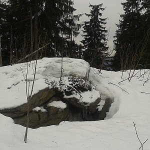 ŠenovKK na vrcholu Nad Kršlí (23.2.2019 13:05)