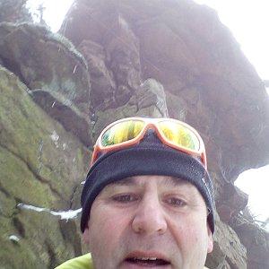 Li Be na vrcholu Nad Kršlí (3.3.2019 10:39)